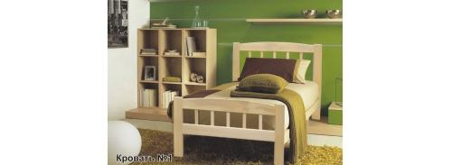 """Кровать """"массив бука"""" №1"""