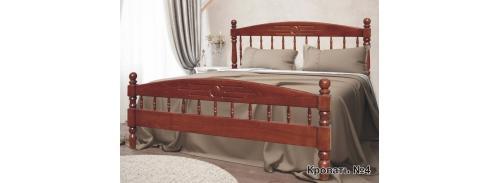 """Кровать """"массив бука"""" №4"""